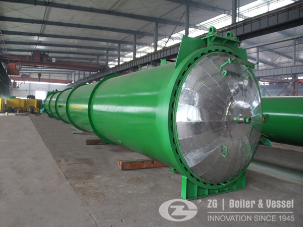 120 ton biomass fired boiler in Pakistan